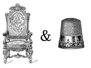 throne and thimble
