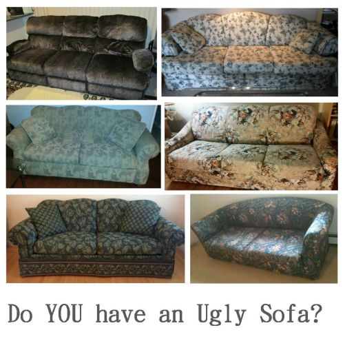 Ugly Sofa collage