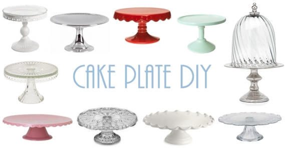 cake plate collage