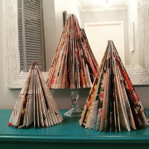 magazine paper tree