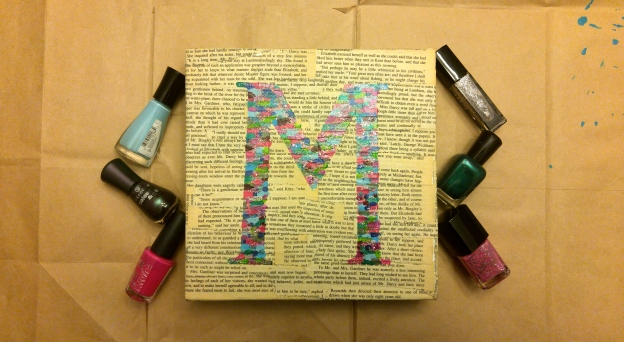 canvas monogram 1