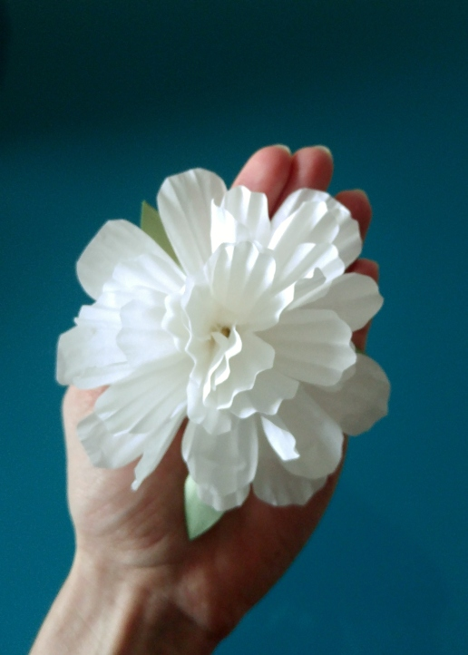 cupcake liners flower round petals