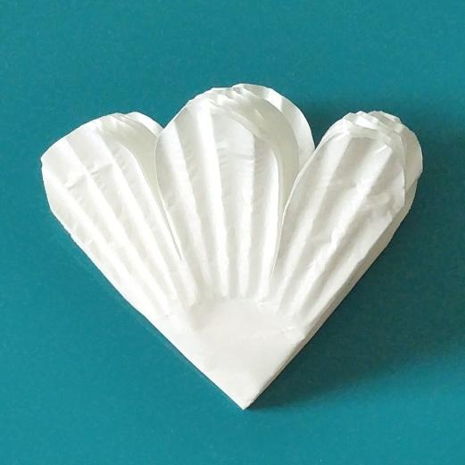 cupcake liners petals cut